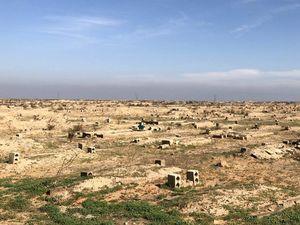 عکس/ قبرستان داعشیها