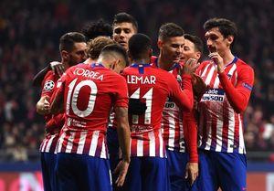لیگ قهرمانان اروپا؛ اتلتیکو برد و صعود کرد