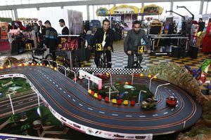 عکس/ افتتاح نمایشگاه صنعت تفریحات