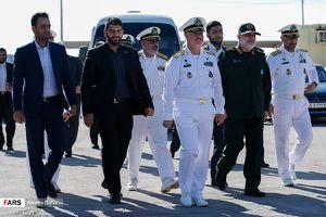 عکس/ تحویل زیردریایی کلاس غدیر به نیروی دریایی ارتش