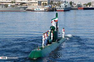 تجهیز زیردریایی غدیر به موشک کروز