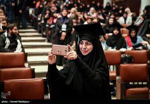 عکس/گردهمایی دانشجویان لبنانی محصل در ایران
