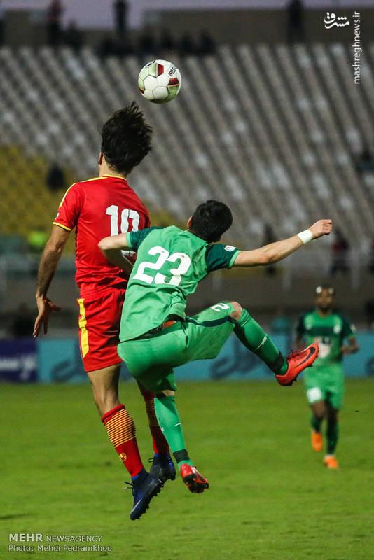 دیدار تیم های فولاد خوزستان و ذوب آهن
