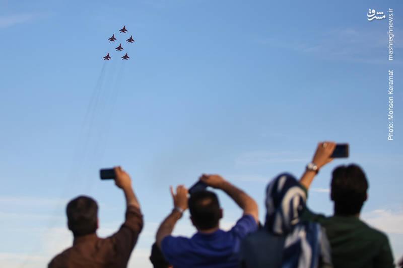 سومین روز نمایشگاه هوایی کیش