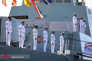 "الحاق ناو شکن ""سهند"" به ناوگان نیروی دریایی ارتش"