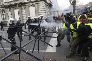 عکس/ پایتخت اروپا متشنج شد