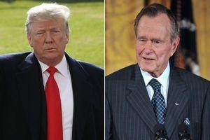 بوش و ترامپ