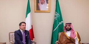 دیدار بن سلمان با سران انگلیس، ایتالیا و آرژانتین