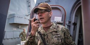 مرگ ناگهانی فرمانده ناوگان دریایی ارتش آمریکا در آسیا