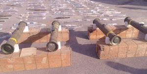 کشف موشکهای آمریکایی «تاو» در جنوب سوریه +عکس