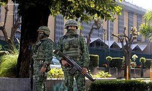 کنسولگری آمریکا در مکزیک هدف حمله قرار گرفت