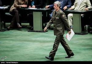 سوال از وزیر دفاع در مجلس اعلام وصول شد