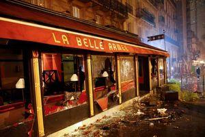 عکس/ رستورانی که خاکستر شد