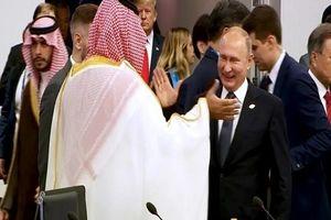 راز برخورد گرم پوتین با ولیعهد عربستان