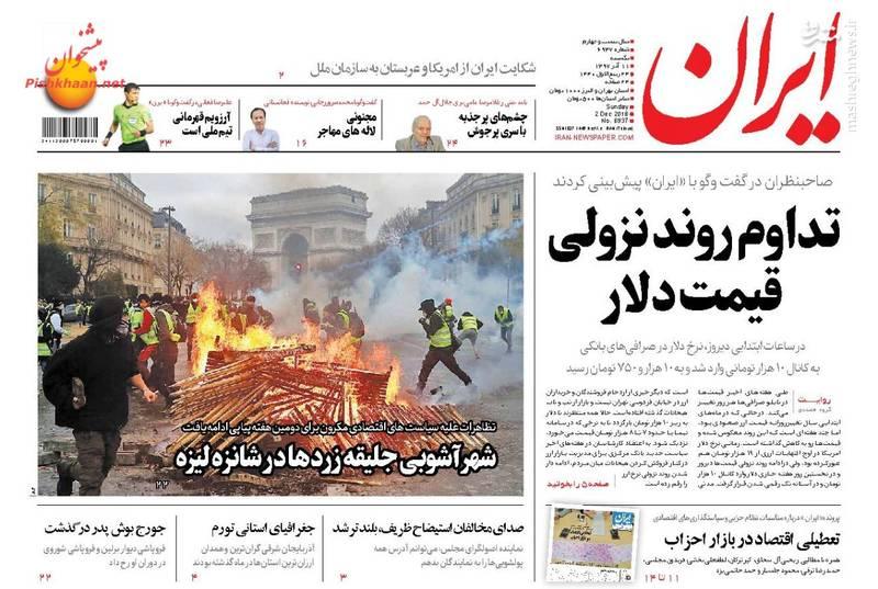 ایران: تداوم روند نزولی قیمت دلار