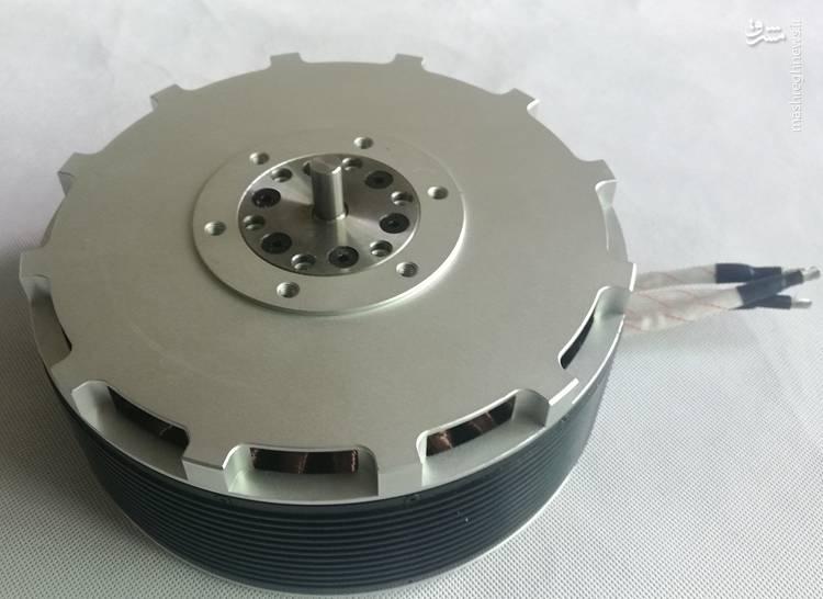 نمونه کوچک از یک موتور BLDC با توان 40 کیلو وات