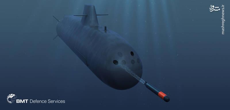 نمایه گرافیکی زیردریایی Vidar-36