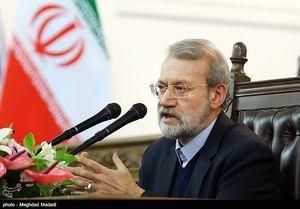 نشست خبری علی لاریجانی رئیس مجلس