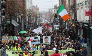 تظاهرات علیه افزایش بهای مسکن در ایرلند