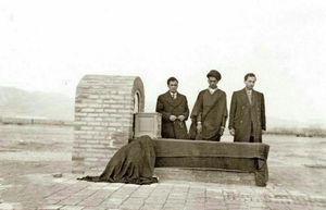 تصویری قدیمی از مقبره آیت الله مدرس