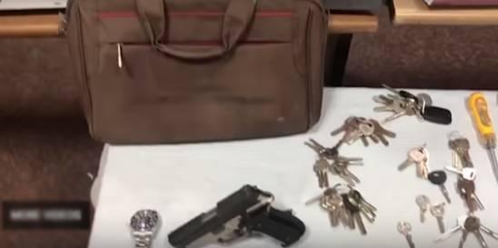 آقای مجری به جرم ۳۸ فقره سرقت دستگیر شد+ تصاویر