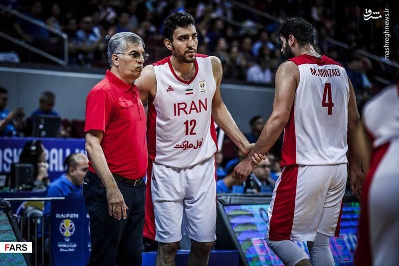 نبرد جانانه بلندقامتان ایران و فیلیپین