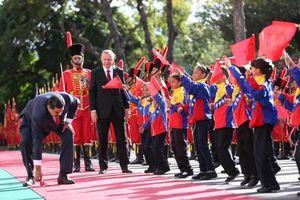 عکس/ اقدام جالب رئیس جمهور ونزوئلا