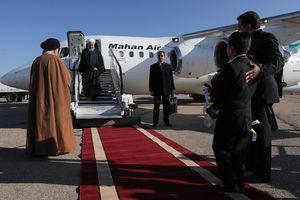 عکس/ ورود روحانی به شهر شاهرود