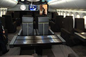 عکس/ فروش هواپیمای لوکس آقای رئیسجمهور