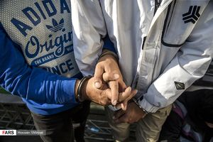 نوزدهمین مرحله طرح رعد بازداشت اراذل اوباش سارقان