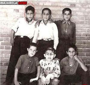 تصویر نوجوانی ستاره سابق تیم ملی ایران