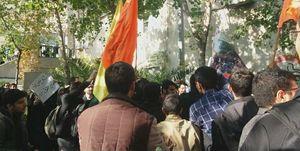 اظهارات دانشجویان درباره اتفاقات امروز دانشگاه امیرکبیر
