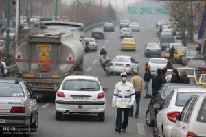 پلیس راهور آلودگی هوا