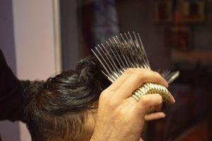 اصلاح مو با 27قیچی همزمان!