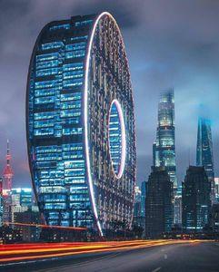 معماری شگفت انگیز در شانگهای چین