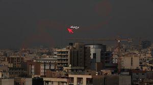 عکس/ برج میلاد گُم شد !
