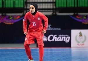 یک ایرانی در بین 10 بانوی فوتسالیست برتر جهان