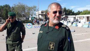 حضور سردار پاکپور در محل حادثه تروریستی چابهار + تشریح جزئیات عملیات