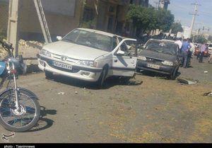 خسارت وارده به خودروهای حاضر در محل حادثه