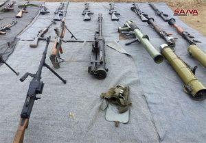 عکس/ کشف سلاح ساخت اسرائیل و آمریکا در دمشق