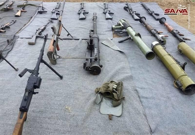کشف سلاح ساخت اسرائیل و آمریکا در دمشق