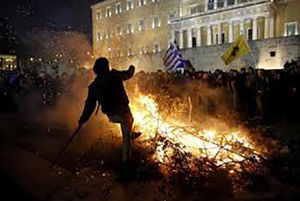 فیلم/ تظاهرات در سالگرد قتل دانش آموز یونانی!