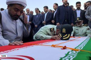 عکس/ تشییع شهدای حادثه تروریستی چابهار