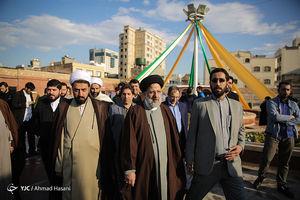 عکس/ افتتاح مجتمع دانشجویی امام رضا(ع) با حضور رئیسی