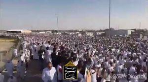 فیلم/ تشییع باشکوه یکی از علمای شیعه در عربستان
