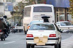فیلم/ دستکاری پلاک برای دور زدن قانون!