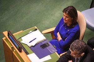 قهر نیکی هیلی از سازمان ملل +عکس