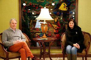 زوج فرانسوی: جذب ایران و مردمش شدیم