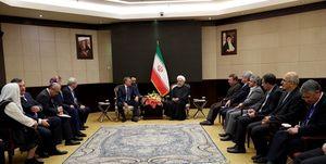 در دیدار روحانی با رئیس مجلس دومای روسیه چه گذشت؟