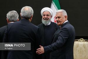 عکس/ دیدار روحانی با رؤسای مجالس کشورهای آسیایی